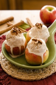 Cinnamon Apple Sundae