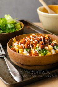 Buffalo Chickpea Mac