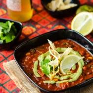 Loaded Enchilada Soup