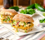 Vegan Fish Taco Sliders