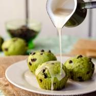 Mint- Glazed Cupcakes