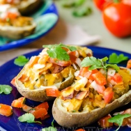 Mexican Twice-Baked Potatoes