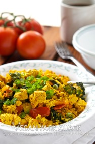 Tofu Scramble for Two