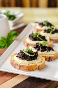 Tapenade Crostini