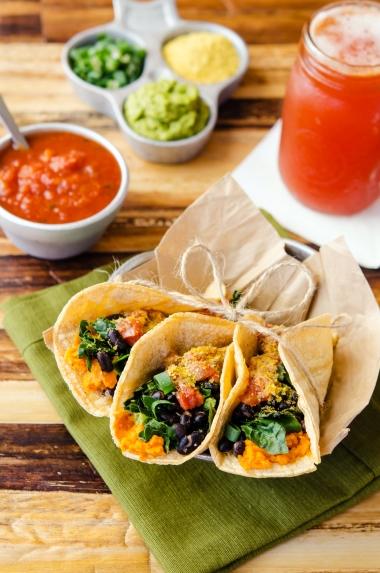 Breakfast Tacos / Happy Herbivore: Light & Lean
