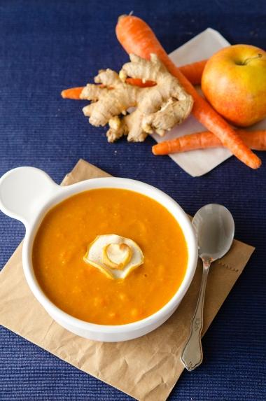 Carrot Soup / Happy Herbivore: Light & Lean