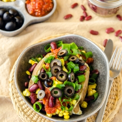 Mexican Loaded Potato / Happy Herbivore: Light & Lean