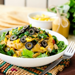Nacho Bowl / Happy Herbivore: Light & Lean