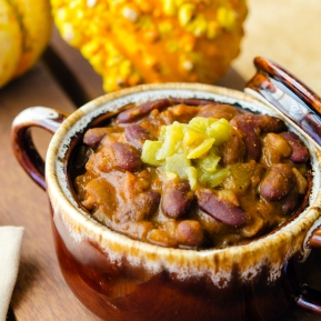 Pumpkin Chili / Happy Herbivore: Light & Lean