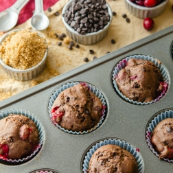 Ruby Chocolate Muffins / Happy Herbivore: Light & Lean
