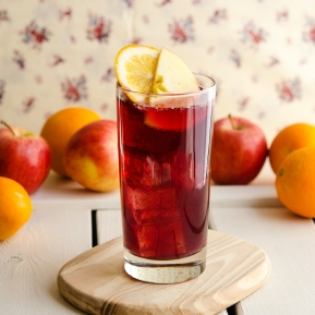 Sangria Spritzer / Happy Herbivore: Light & Lean