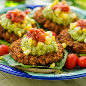 Taco Burgers / Happy Herbivore: Light & Lean
