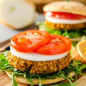 Tempeh Burgers / Happy Herbivore: Light & Lean