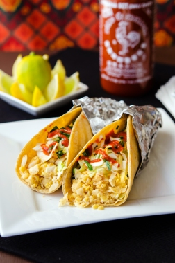 Thai Tacos / Happy Herbivore: Light & Lean