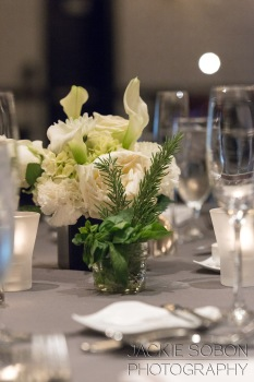 Table Dressings with Rosemary and Basil