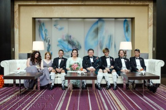 Wedding Party in Nines Hotel