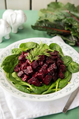 Beet Salad Happy Herbivore Holidays and Gatherings