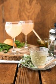 Dandelion Mimosa and Tea Greens 24/7 Vegan Recipes