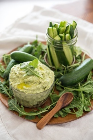 Hummus and Pickles Greens 24/7 Vegan Recipes