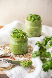 Pesto Duo Greens 24/7 Vegan Recipes