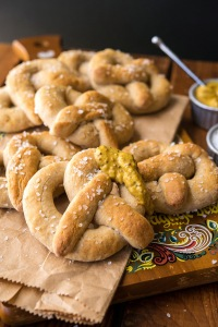 Soft Pretzels Happy Herbivore Holidays and Gatherings