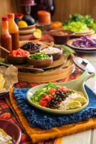 Taco Bar Happy Herbivore Holidays and Gatherings