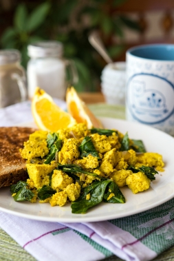 Tofu Scramble Greens 24/7 Vegan Recipes