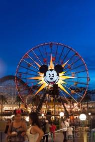 Mickey's Ferris Wheel in California Adventure