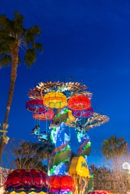 Jellyfish ride in California Adventure