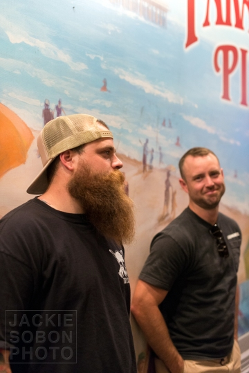 Corey and Mark at Paradise Pier
