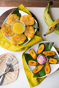 Tostones and Sweet Plantains