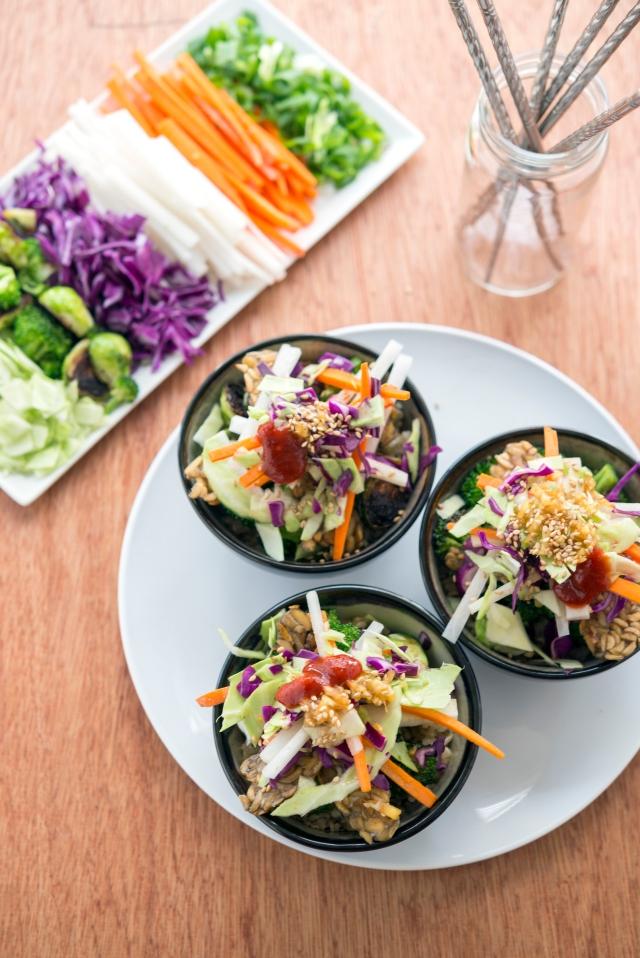 Tempeh Bibimbap from Superfoods 24/7