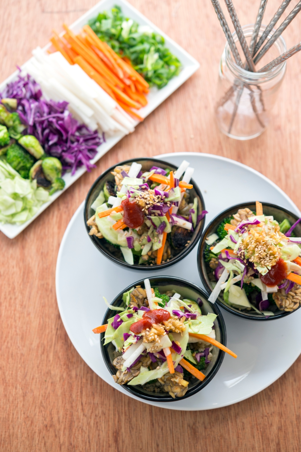 Tempeh Bibimbap from Superfoods 24/7