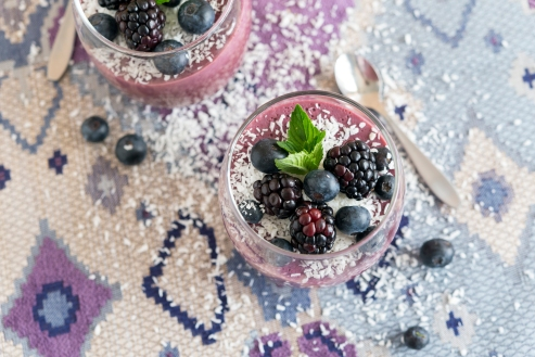 Berry Parfait from Eaternity by Jason Wrobel // Photo by Jackie Sobon