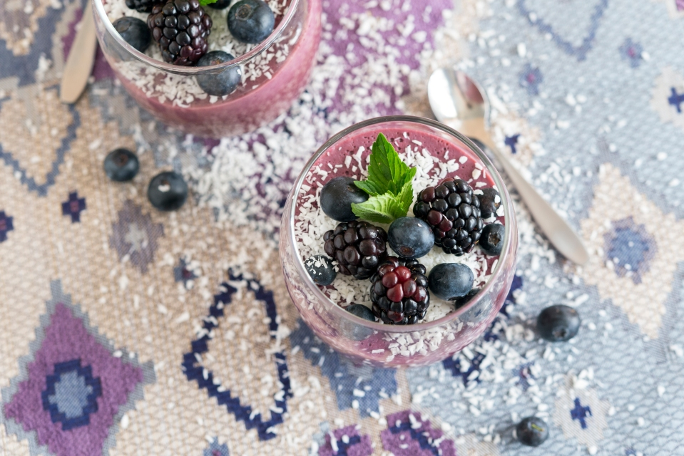 Berry Parfait from Jason Wrobel's Eaternity Cookbook