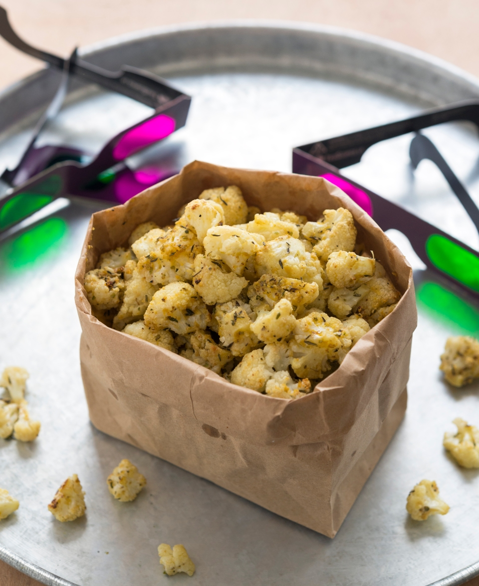 Cauliflower Popcorn from Jason Wrobel's Eaternity Cookbook
