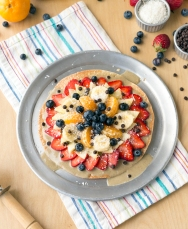 Fruit Pizza from Eaternity by Jason Wrobel // Photo by Jackie Sobon