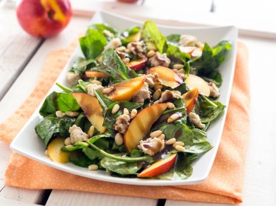 Summer Nectarine Salad from Eaternity by Jason Wrobel // Photo by Jackie Sobon