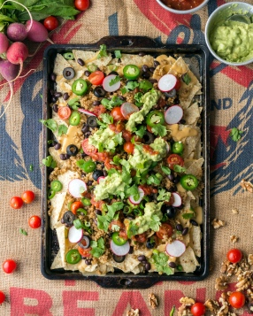 Supreme Nachos from Eaternity by Jason Wrobel // Photo by Jackie Sobon