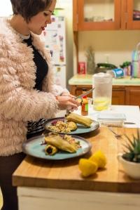 Lifestyle Portrait - Michelle Marquis makes tamales