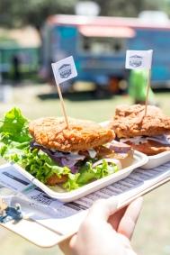 Herbivorous Butcher Double Down - Eat Drink Vegan, Pasadena