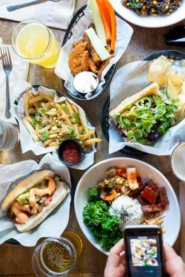 Bar Food Spread - Tony's Darts Away, Burbank